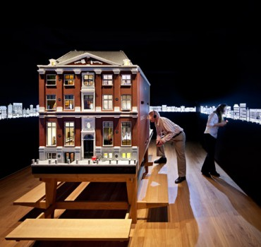 Digital dollhouse, Amsterdam 'Grachtenhuis' museum