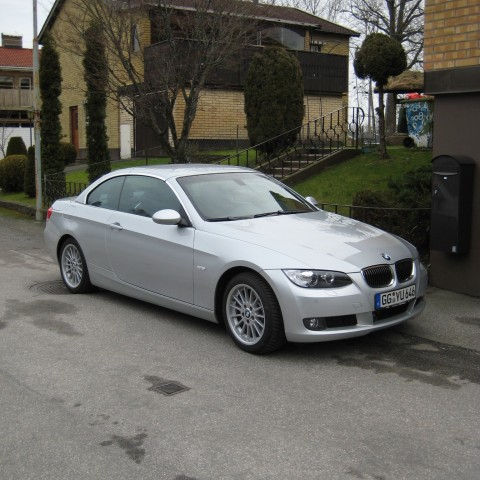 The BMW 330 convertible came second but only due to my passion for Saab.