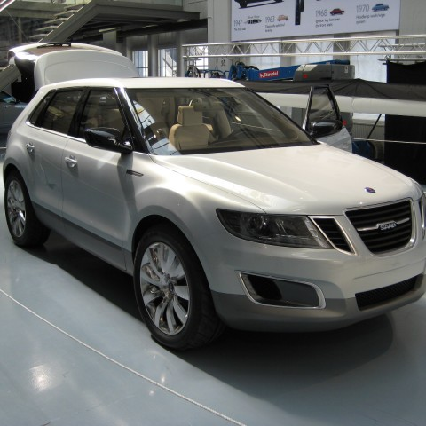 Saab 9-4X crossover concept car