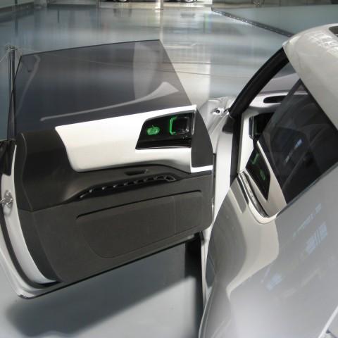 Saab 9X interior door panel