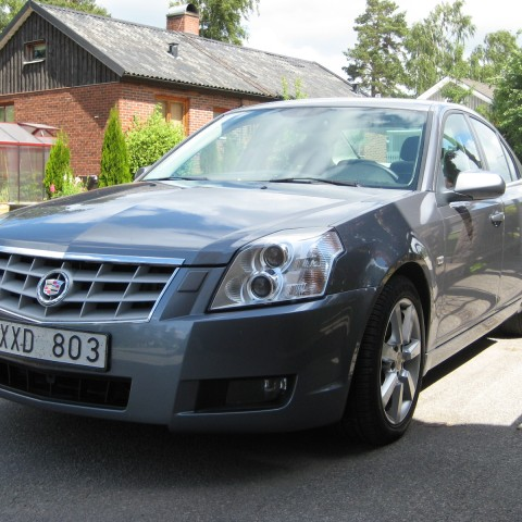 The Cadillac BLS seems an odd one between other Europeans, but actually is build in the Saab factory at Trollhättan, Sweden and shares a lot of components with the 9-3.