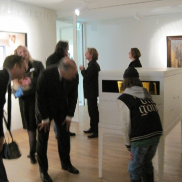 Visitors of the museum were attracted towards the installation.
