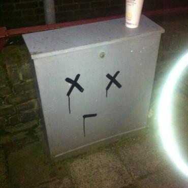 Dead smiley in Rotterdam