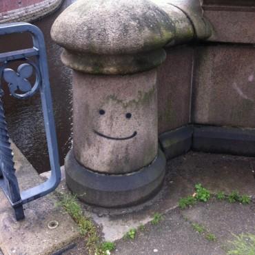 Smileys also in Hamburg, Germany.