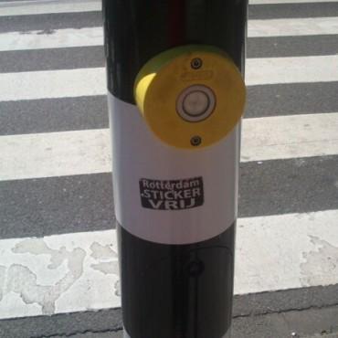 Sticker about sticker free environment :)