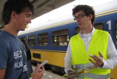 'Platform Positioner' for NS, Dutch Railways