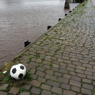 Breda, harbour pole
