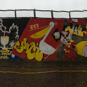 Breda, combined artwall on national history