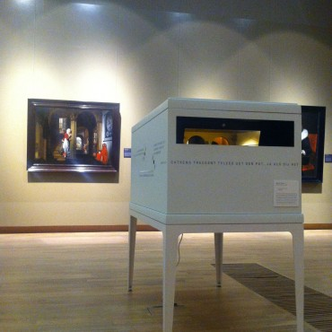 The installation is now part of the collection of the museum.