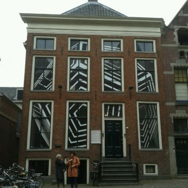 Impressively decorated house in Groningen.