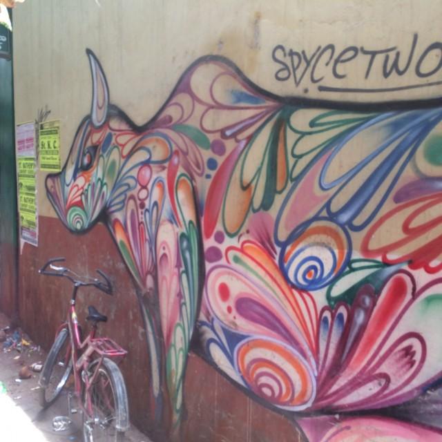 India Street Art Varanassi