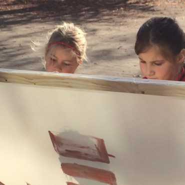 All ages were present to paint all the icons.